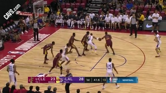 Preston Picks the Lakers' Pocket