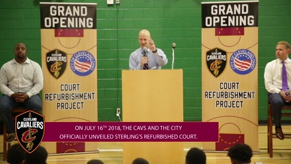 Cavs Refurbish Third Court