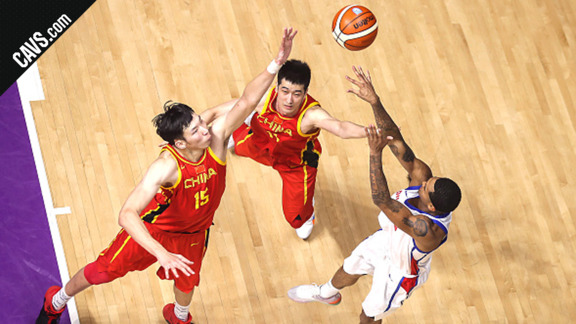 Clarkson Pours in 28 Points vs. China