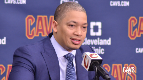 Coach Lue 2018 Media Day Availability