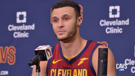 Larry Nance Jr. 2018 Media Day Availability