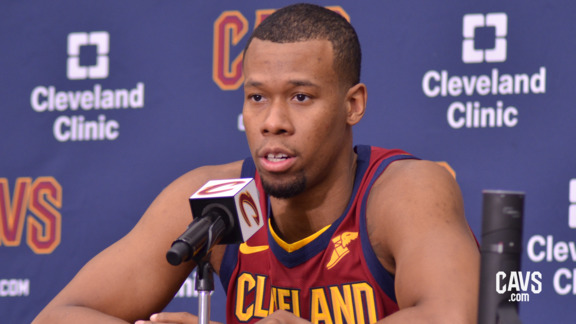 Rodney Hood 2018 Media Day Availability
