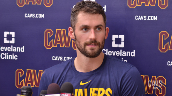 Training Camp Day 1: Kevin Love