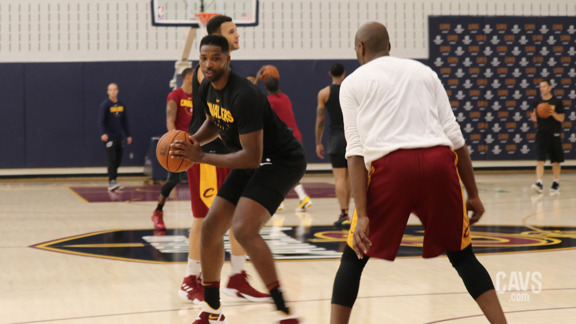 Day 1: Inside Cavs Camp