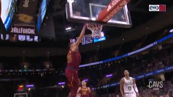 Featured Highlight: Nance Throws it Down