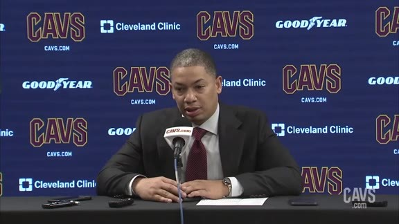 #CavsPacers Preseason Postgame: Coach Lue - October 8, 2018