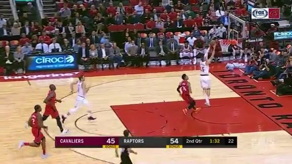 Dekker with the Steal and Slam
