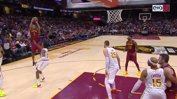 Rodney Hood Hits Nice Step-Back Jumper