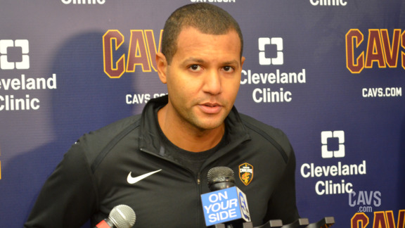 Koby Altman Addresses the Media