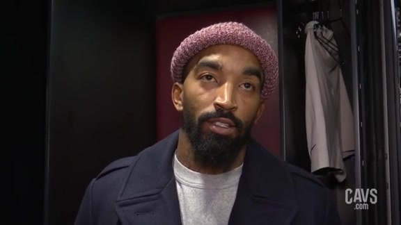 #CavsThunder Postgame: JR Smith