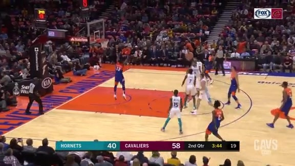 Nance Hits T.T. with Alley-Oop