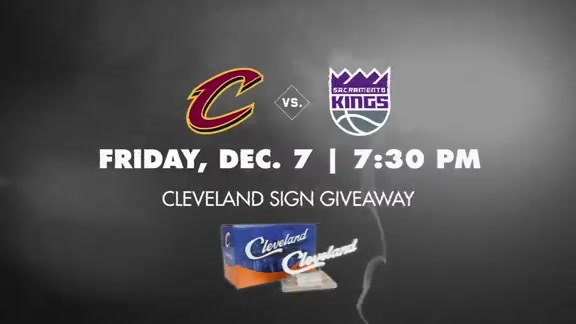 Cleveland Sign Giveaway on December 7