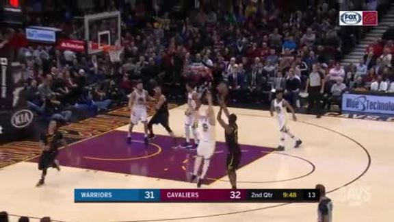 Burks Nails Three After Nice GHill Assist