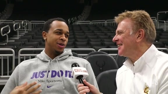 1-on-1 with John Henson from Milwaukee