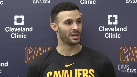 #CavsKnicks Shootaround: Larry Nance Jr.