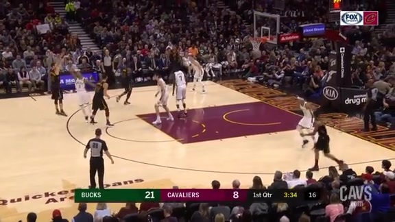 Delly Buries Trey Off the Bench