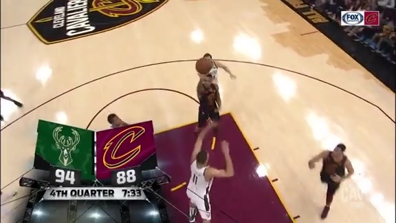 Clarkson Sends It Up and In