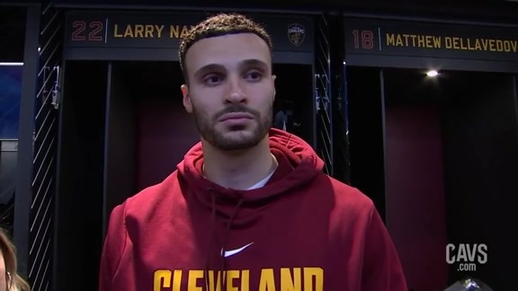 #CavsBucks Postgame: Larry Nance Jr.