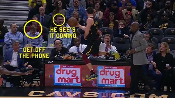 Breaking Down Delly's Wild Play against Milwaukee
