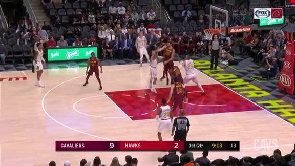 Nance Jr. Sends the Shot Away