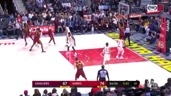 Clarkson Deposits the Easy Dunk