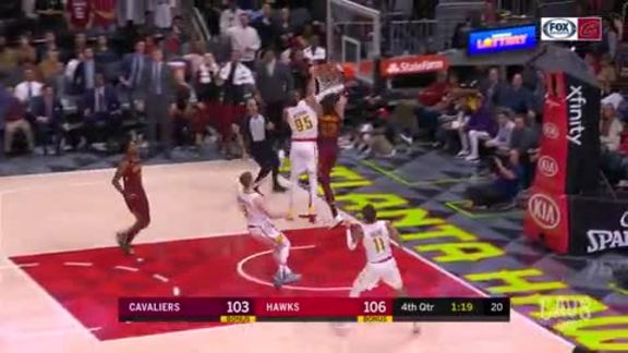 Cedi Powers Home the Slam