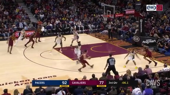 Delly Dimes Clarkson for a Beauty of a Layup