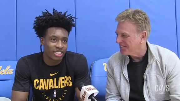 1-on-1 with Collin Sexton from L.A.