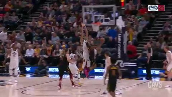 Burks Hits the Difficult Shot