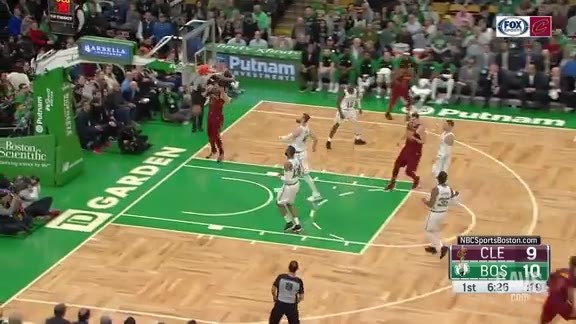 Cedi Throws Down the Two-Handed Slam