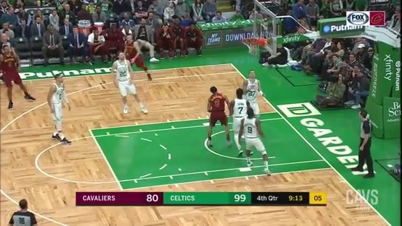 Clarkson Hits Tough Layup in the Paint