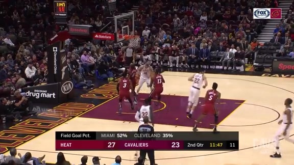 Delly Spins and Scores in the Paint