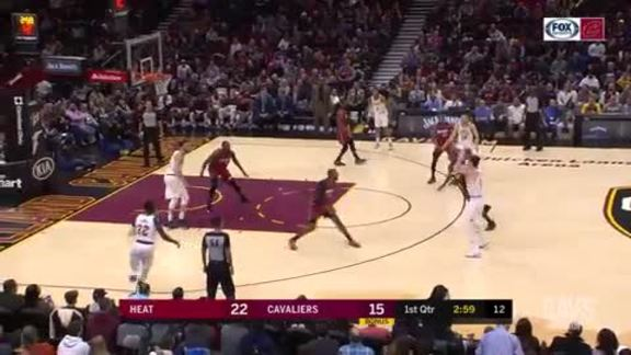 Cedi Nails Back-to-Back Treys in the First