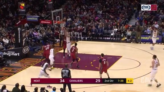 Nance Jr. Cleans Up with a Slam Dunk