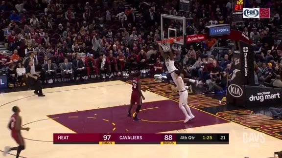 Featured Highlight: Cedi Steals, Alec Slams