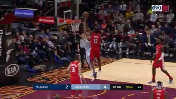 Zizic Grabs Own Rebound, Finishes with Tough Play