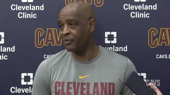 Hear from Coach at Friday's Practice