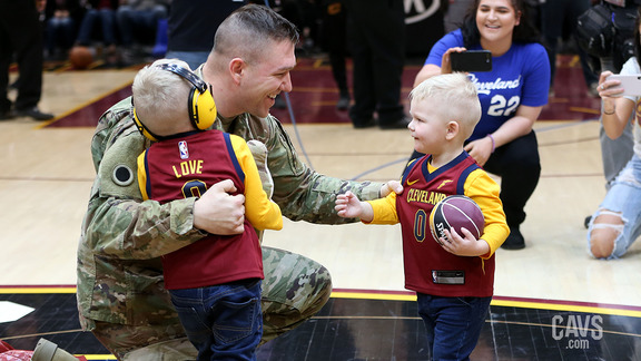 Military Welcome Home Surprise