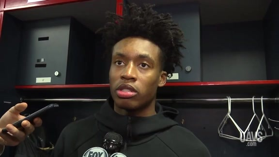 #CavsWizards Postgame: Collin Sexton