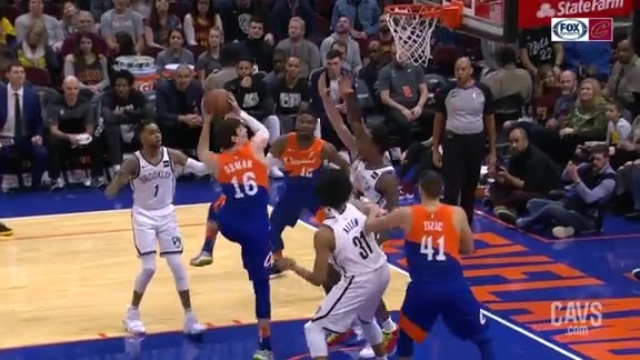 Cedi Tallies Two Points with Physical Layup