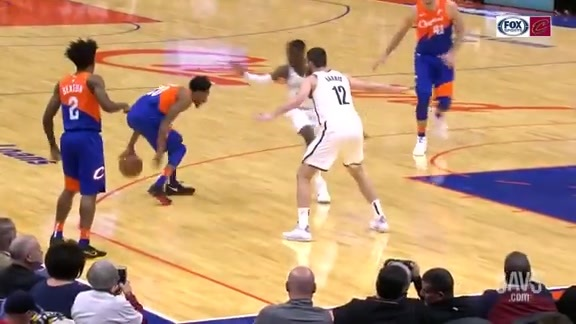 Knight Lays Sick Crossover on Nets Defender