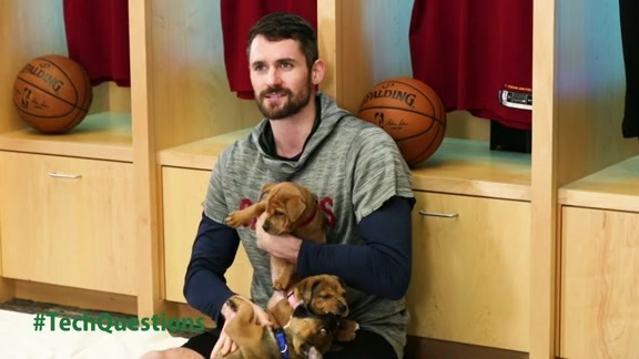 TrustedSec Puppies Players Playtime with Kevin Love