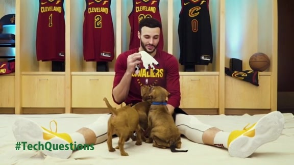 TrustedSec Puppies Players Playtime with Larry Nance Jr.