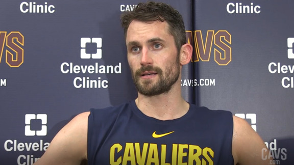 #CavsSuns Practice: Kevin Love