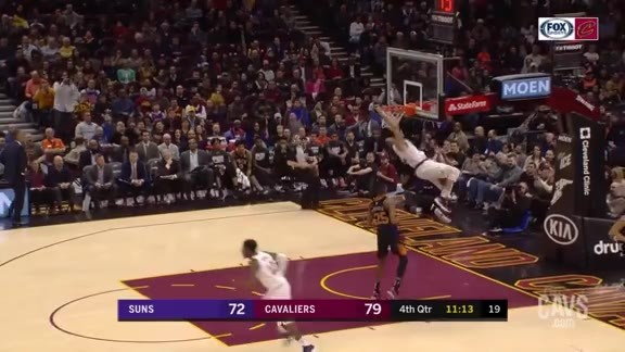 Nance Jr. Rocks the Rim
