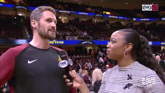 #CavsSuns On-Court Postgame: Kevin Love