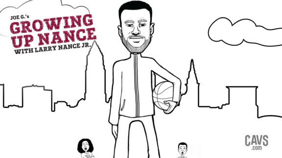 The Tale of Growing Up with Larry Nance Jr.
