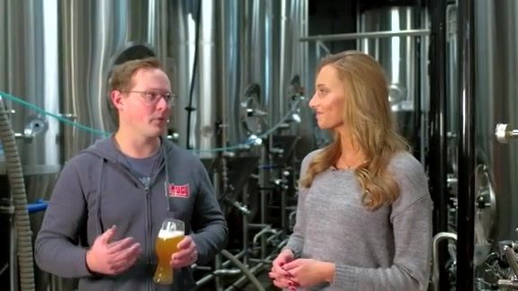 Griffin Talks with Saucy Brew Works Co-Founder Eric Anderson