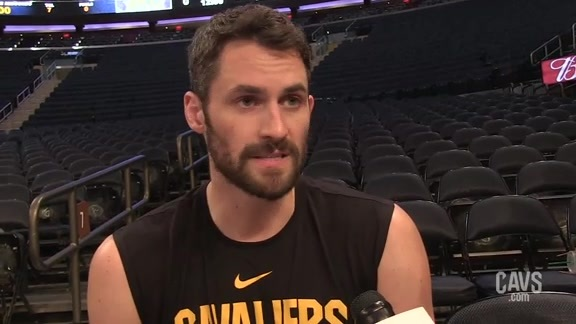 Kevin Love 1-on-1 from the Big Apple