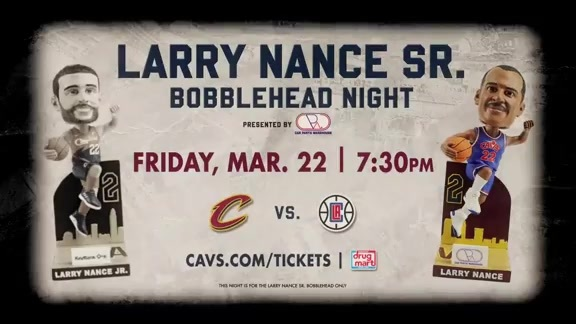 Larry Nance Sr. Bobblehead Night